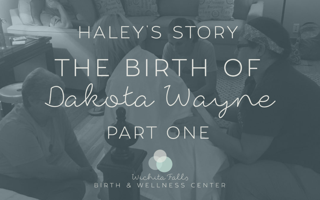 Haley's Story-The Birth of Dakota Wayne~Part One