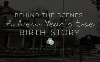 Behind the Scenes New Year's Eve Birth Story