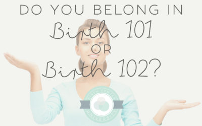 Do you belong in BIRTH101 or BIRTH201?